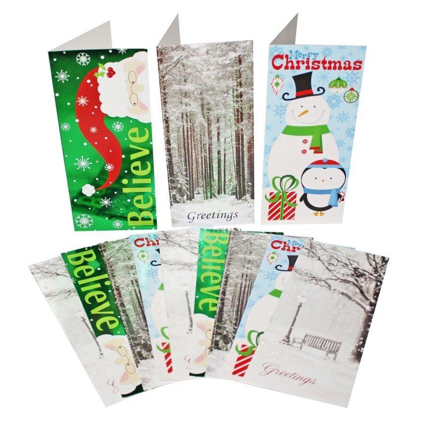 Christmas Greeting Cards 12-piece Set - thumbnail
