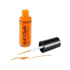 Color Club Nail Art Lacquer 7ml (Neon Orange) Philippines