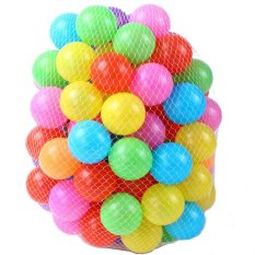 Colorful Swimming Pit Infant Toys 100 Bouncing Ball Bags(multicolor) By Better Buy.