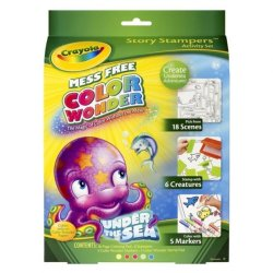 Crayola Color Wonder Story Stampers Activity Set (Multicolor)