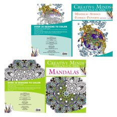 Creative Minds Coloring Books For Adults 5 6