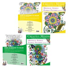 Creative Minds Coloring Books For Adults 9 10