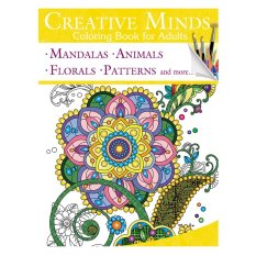 Creative Minds Coloring Books For Adults 9