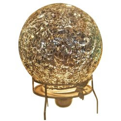 Crystal Egg Design Lamp (Brown)