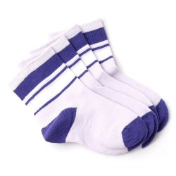 Curity Baby Socks Pack of 2 (Violet)