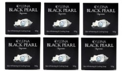 Cyleina Black Pearl Supreme Soap 100g Set of 6