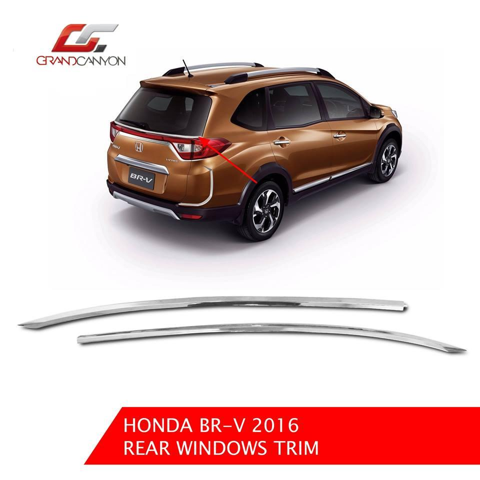 Honda Brv 2016 Rear Window Trim Cover