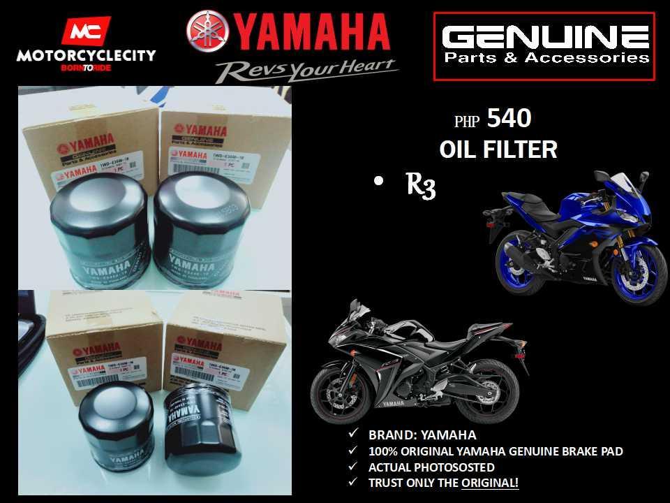 yamaha oil filter (r3)