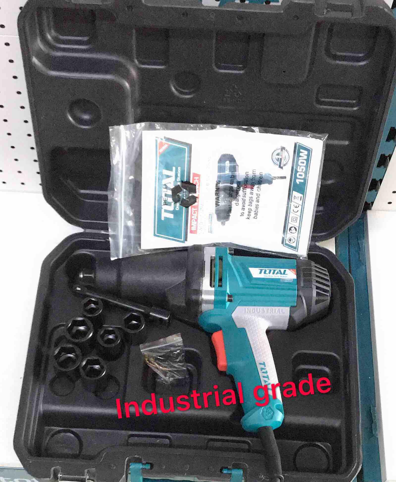 Total Impact Wrench 1050w Industrial Supplies Tiw10101 By Total Tools Davao.