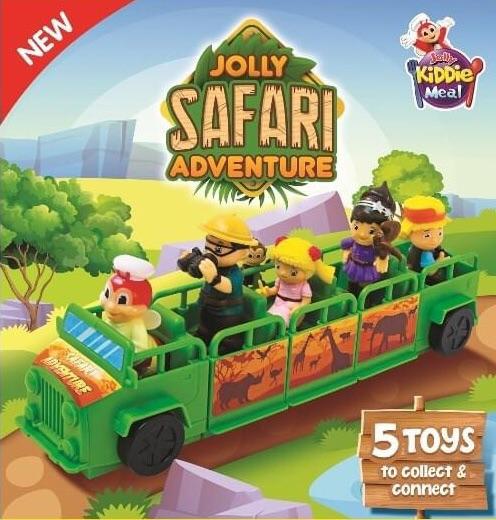 Jollibee Toys Jolly Safari Adventure Per Piece Lazada Ph