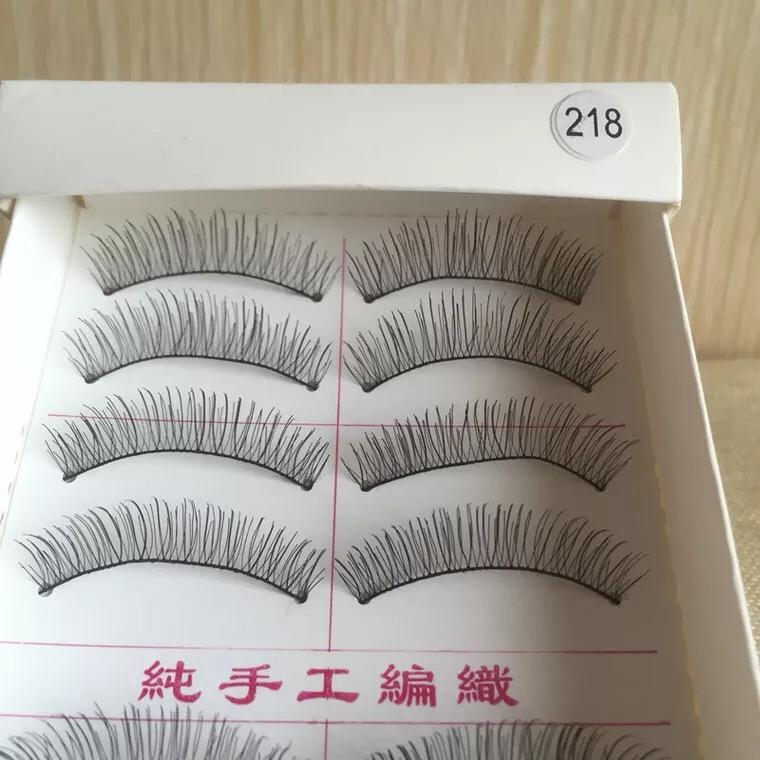 Taiwan Natural Black Long False Eyelashes (10 Pairs) Philippines