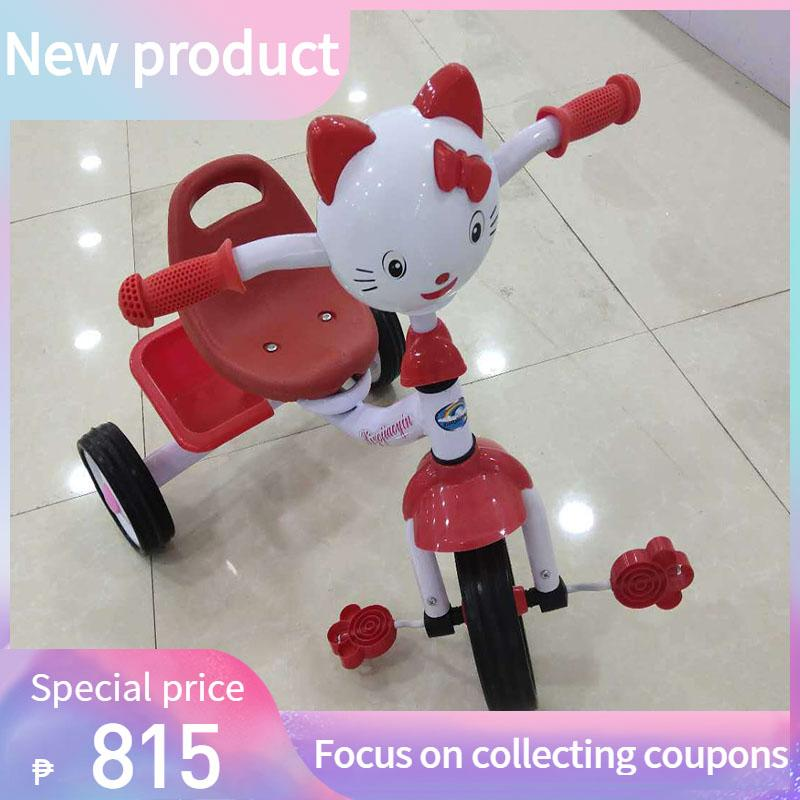 e74d7d8a423 {new product}Cool Baby Tricycle Bike for Kids with Guide Assist Stroller  with Safety