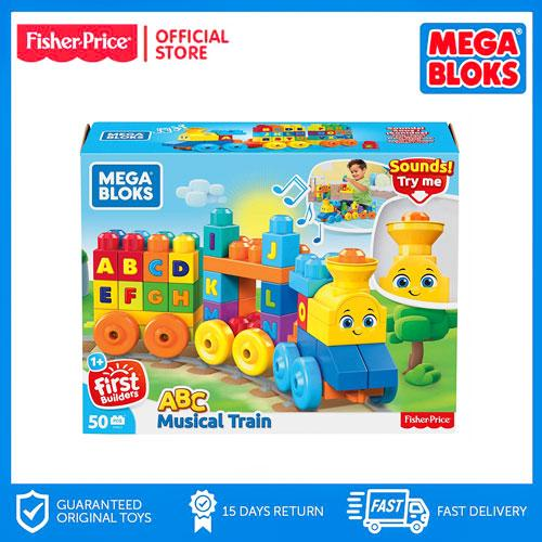 Fisher Price Mega Bloks® ABC Musical Train