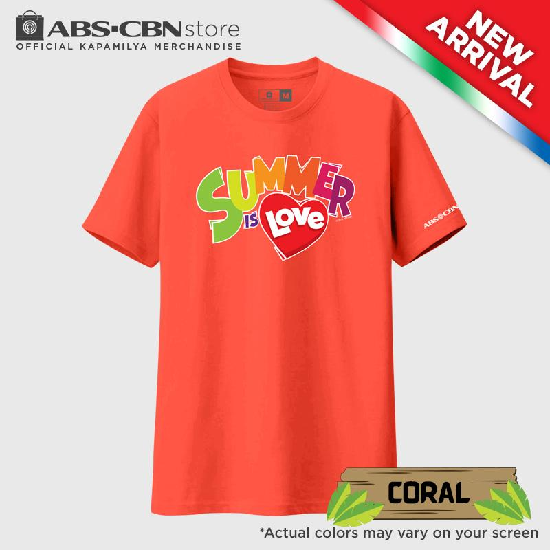 ABS-CBN Summer Is Love Coral Shirt