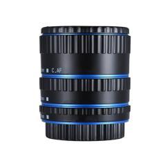 Bộ Chuyển Đổi Ống Kính Gắn Kim Loại Tự Động Lấy Nét AF Macro Ống Mở Rộng Cho Ống Kính Canon EOS EF-S 750D 80D 7D T6s 60D 7D 550D 5D Mark IV