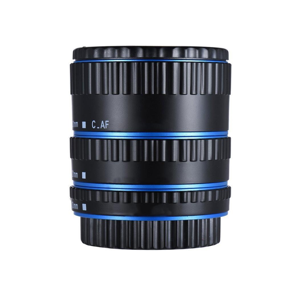 Kim Loại Gắn Bộ Chuyển Đổi Ống Kính Lấy Nét Tự Động AF Ống Macro Nhẫn Dành Cho Canon EOS EF-S Ống Kính 750D 80D 7D T6s 60D 7D 550D 5D Mark IV Đang Có Giảm Giá