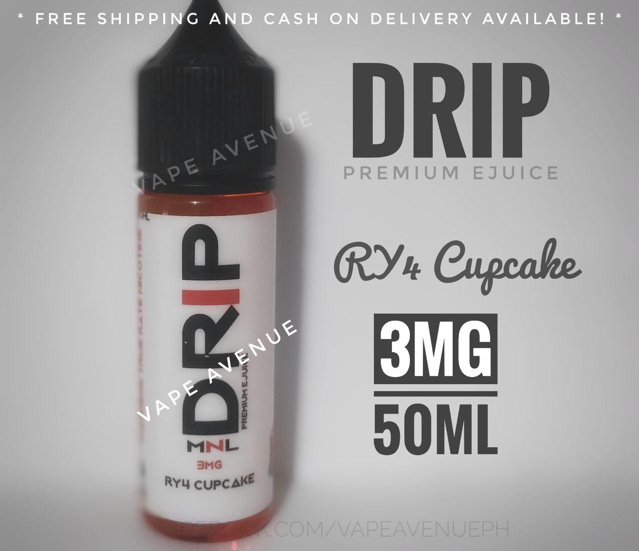 DRiP Premium e Liquid 50ML 3MG / 6MG Premium [ All Flavors ] eliquid e  juice vape juice kit