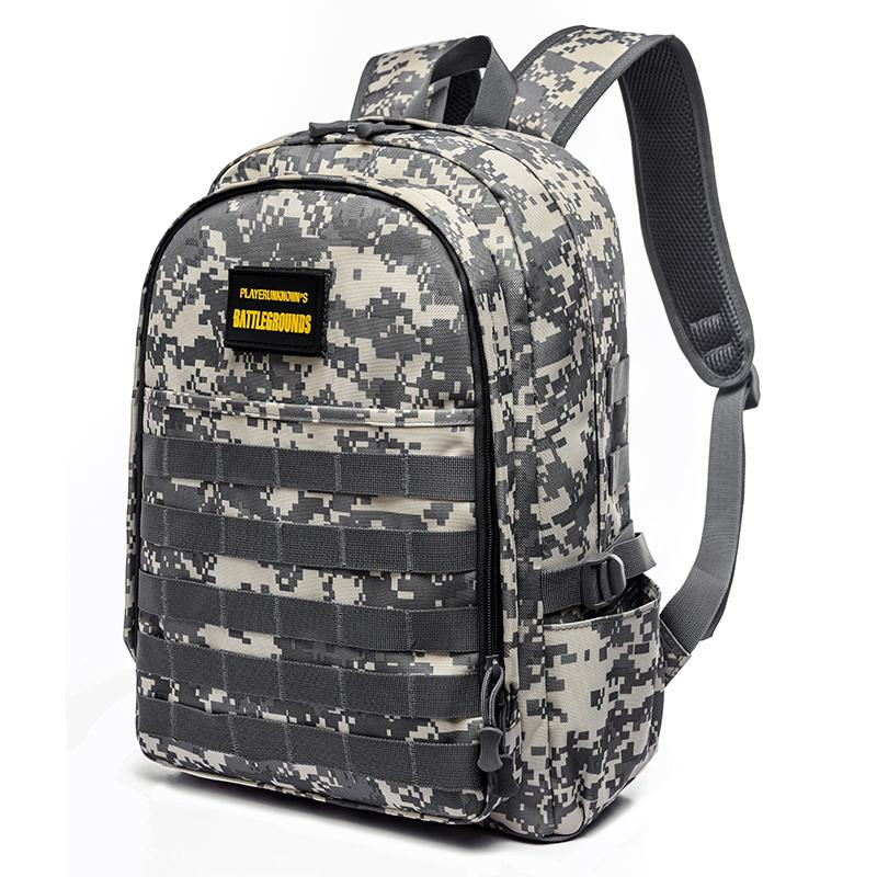 4165dd6f99 Three Layer Students Camouflage School bag bags Jedi Survival Chicken  Backpack Level Three Package boy men