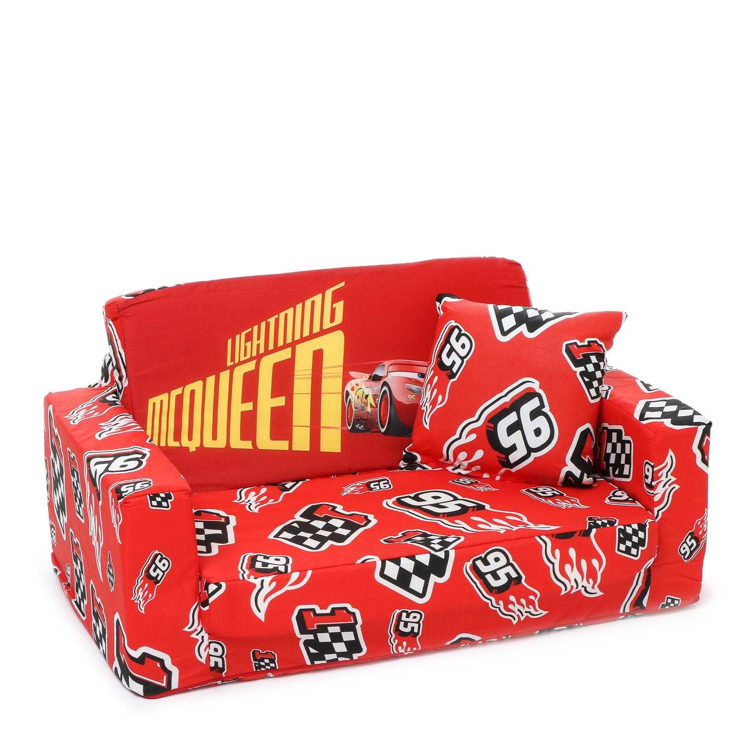Uratex Kiddie Sit And Sleep Disney Cars Convertible Bed By The Sm Store.