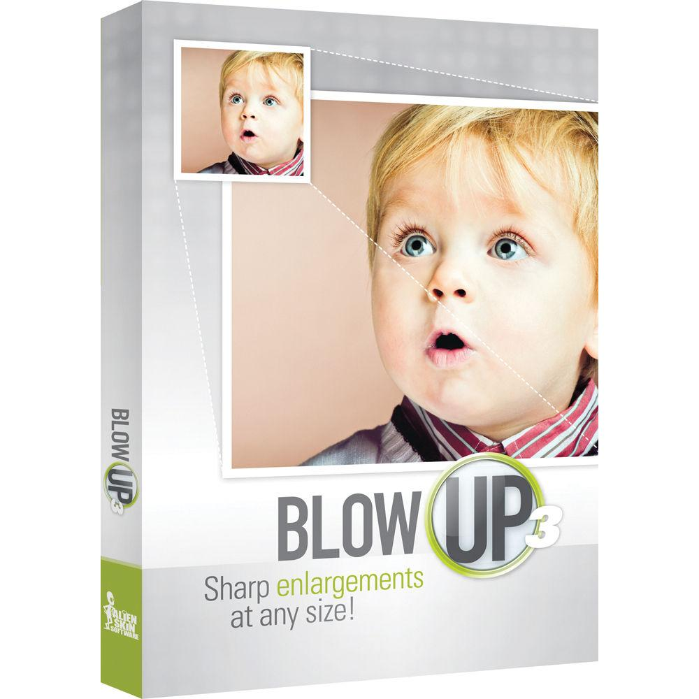 Blow Up High Quality Image Resizing