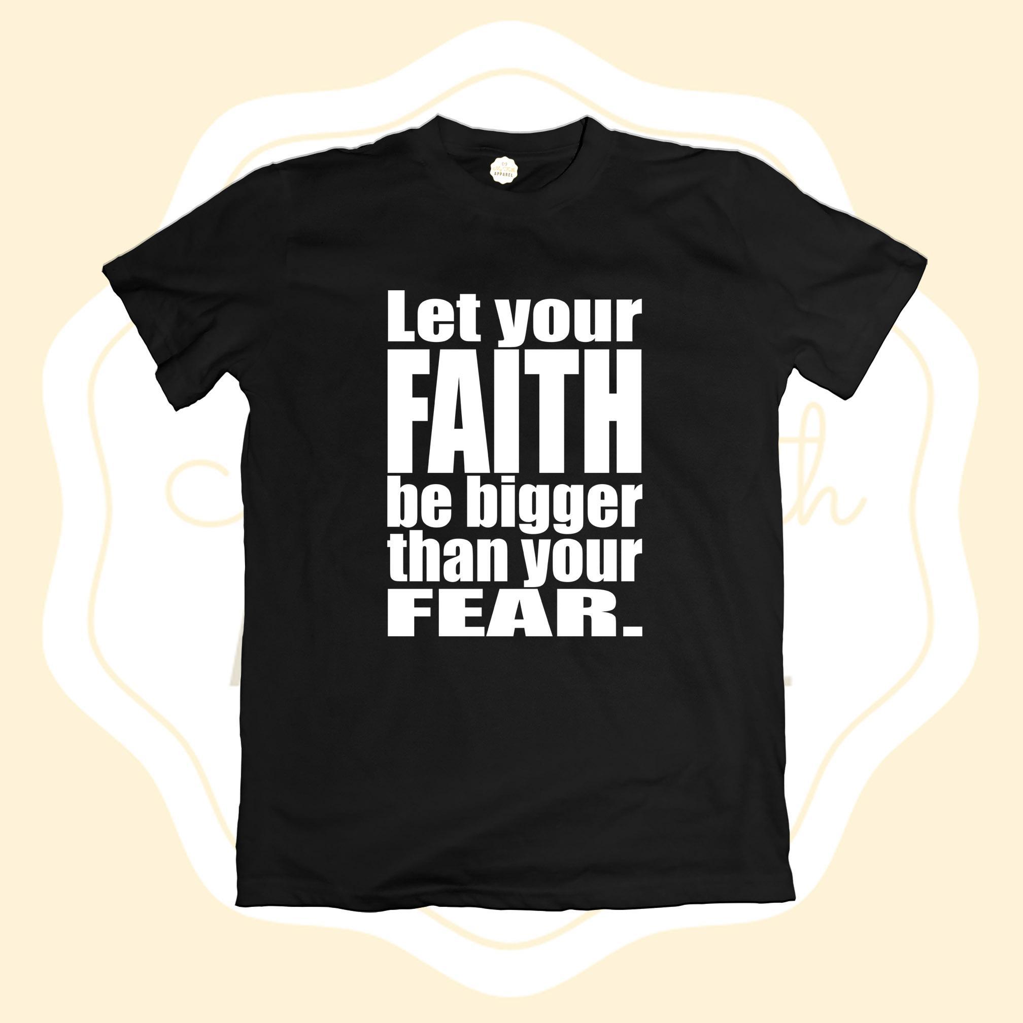 98b5cca7 Faith Apparel Big Faith Christian T-Shirt (FA1055)- tshirt printed graphic  tee