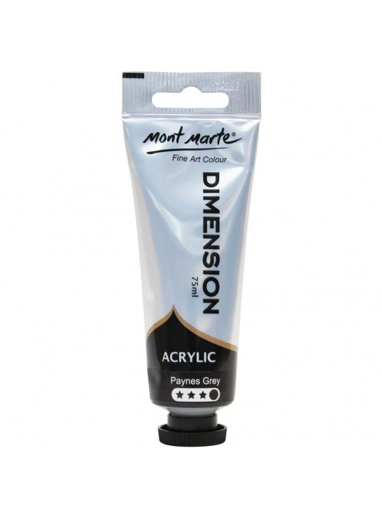 Mont Marte Dimension Acrylic Paint 48 Colors 75ml Tube
