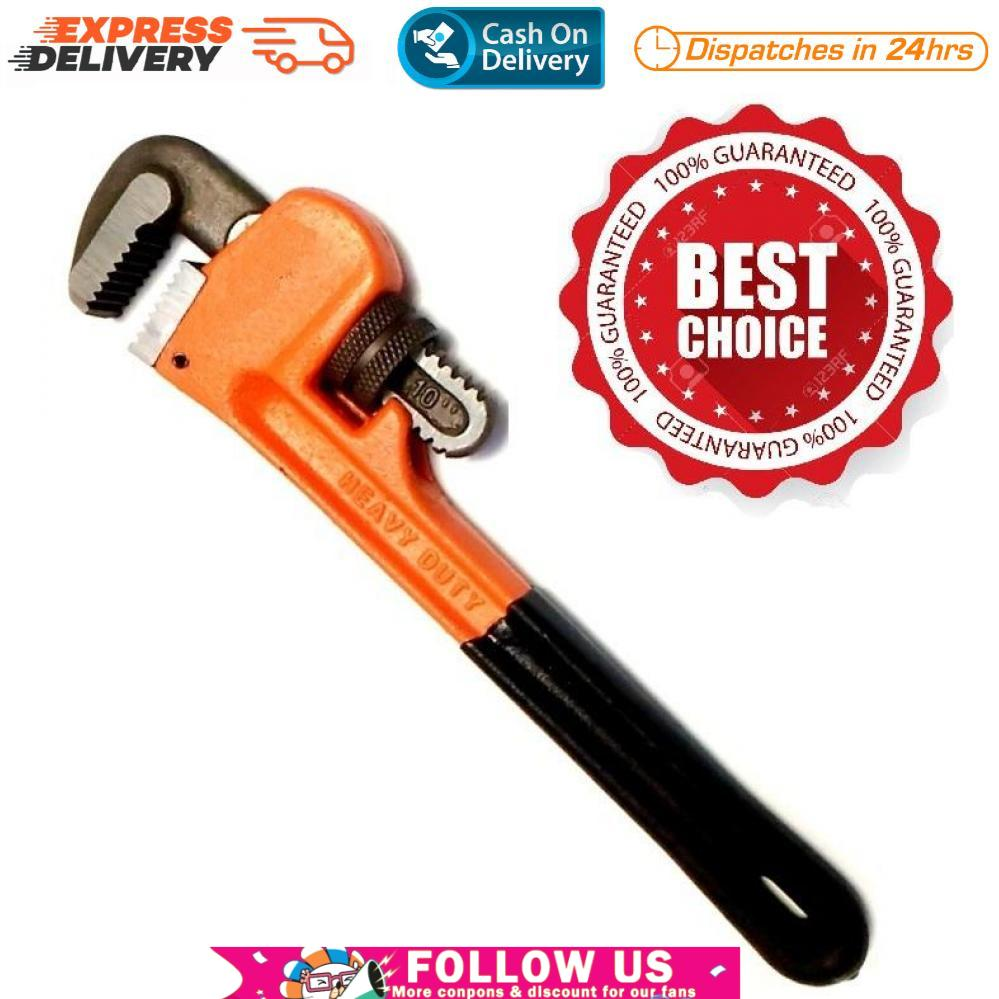 10 inches Heavy Duty Pipe Wrench #0810