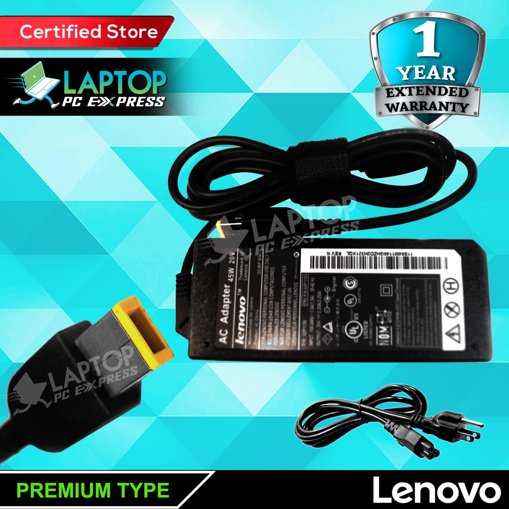 Lenovo Laptop Charger 20V 2 25A Thinkpad , IdeaPad Touch , IdeaPad Series ,  IdeaPad Flex , ThinkPad Edge , ThinkPad , IdeaPad Yoga , G400 G405s G400s,