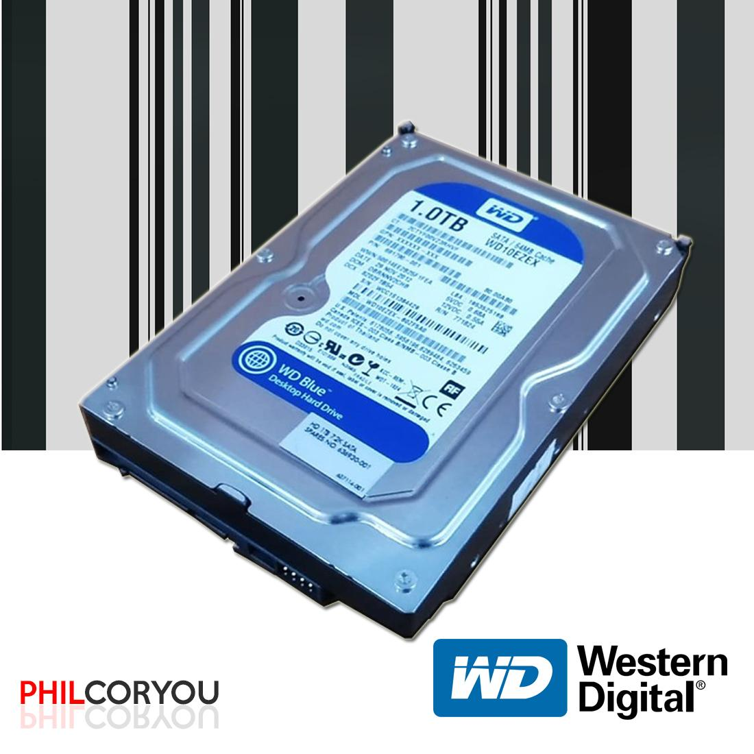 [HDD]Western Digital Blue 1TB SATA DESKTOP HDD 100% HEALTH
