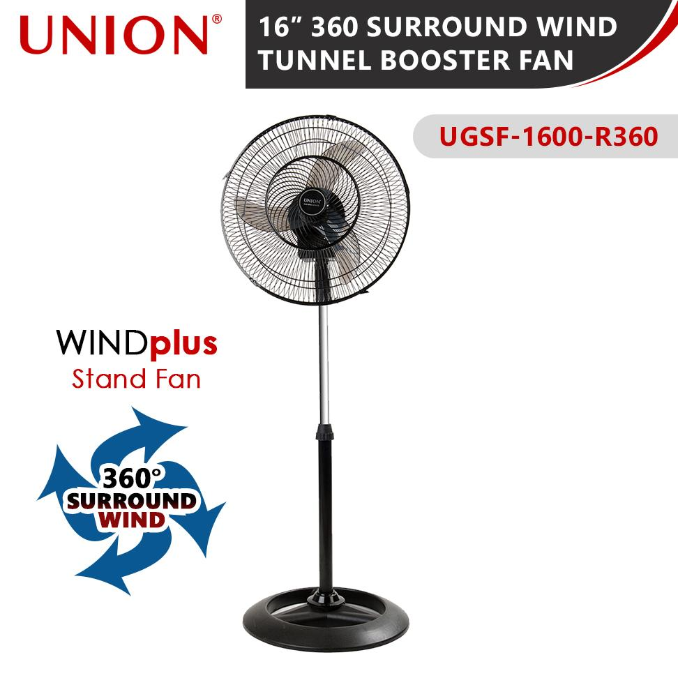Union 16″ 360 SURROUND WIND TUNNEL BOOSTER FAN (UGSF-1600-R360)