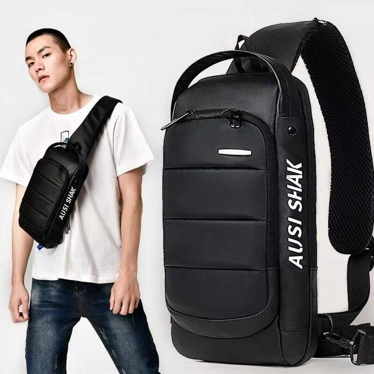 77f5399cbd69 Top Men Anti Theft Crossbody Sling Bags Chest Shoulder Bags Messenger  Travel Bags Cross Body
