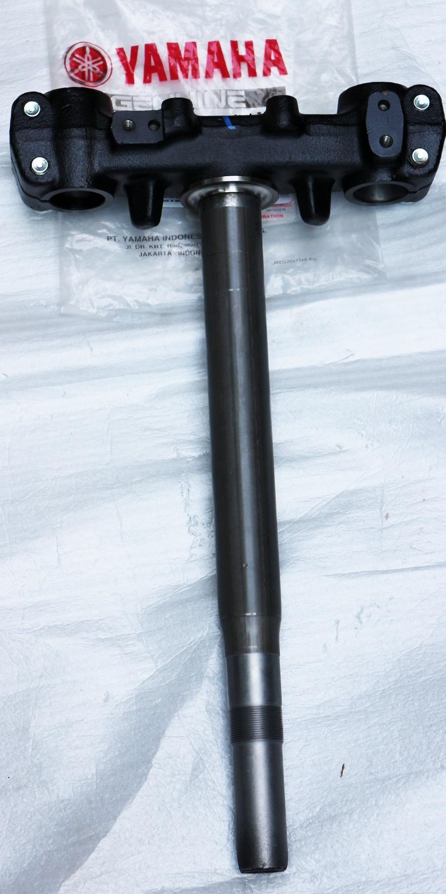 Original Yamaha Under Bracket Comp (t-Post) For Mio Sporty, Soul By Jca Motorshop.
