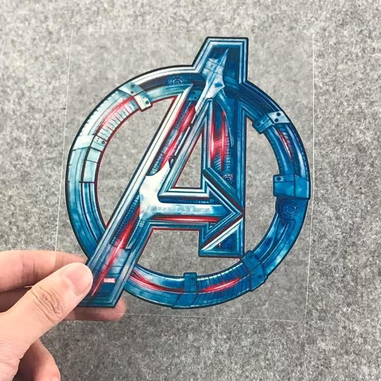 8c2b46748 Avengers LEAGUE Logo Online Celebrity Film And Television che tie zhi  Modified Car Reflective Stickers S.h.