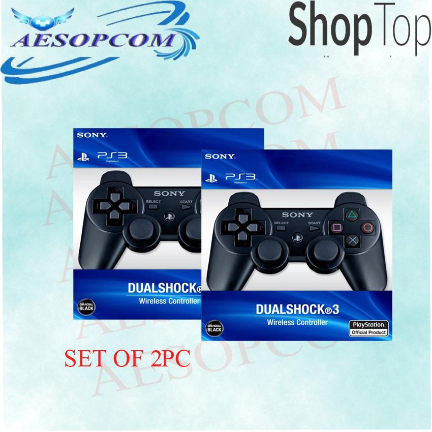 (SET OF 2)Wireless Controller/Dual Shock 3 for Playstation 3/PS3