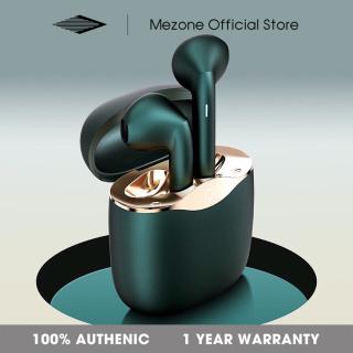 Mezone Tai nghe bluetooth không dây TWS tai nghe gaming thao tác bằng cảm ứng vân tay,âm thanh HIFI,công nghệ giảm ồn thông minh CVC,chống nước chuẩn IPX5 Wireless Earbuds thumbnail