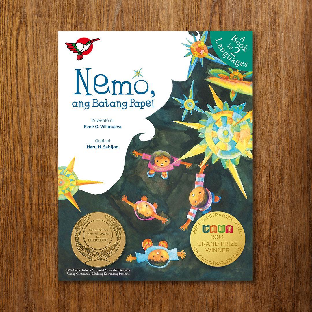 Bilingual Filipino Picture Book - Nemo, ang Batang Papel