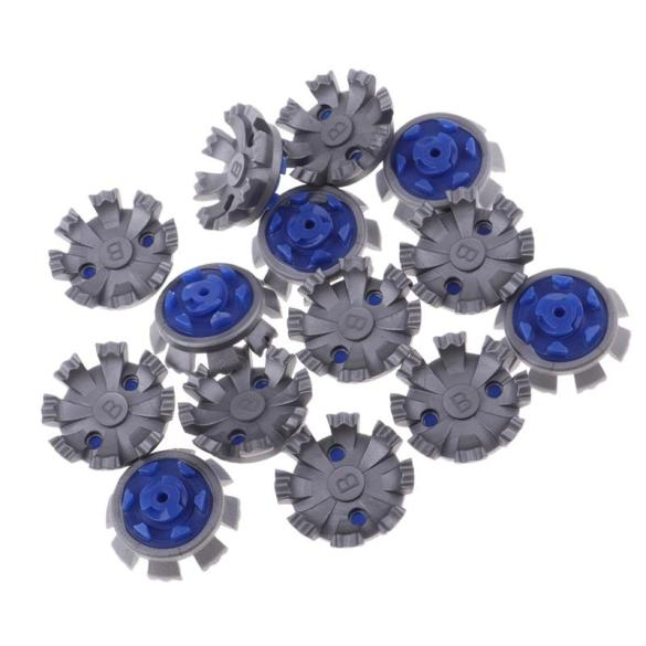 14 Pcs/Set Golf Cleats Shoes Spikes Stinger Rubber Screw Studs Golf Spikes Replacement Fast Twist Golf Shoes Replace Spikes giá rẻ