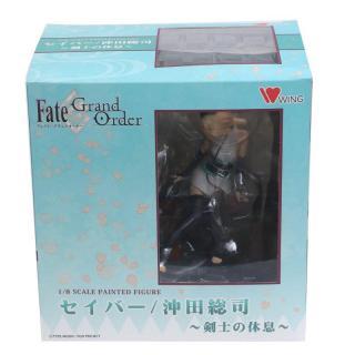 Fate Grand Order Avenger Sakura Okita Nghỉ Ngơi Kiếm Sĩ Souji Alter Nhân Vật Hành Động Bộ Sưu Tập Búp Bê Nhựa PVC Mô Hình 15Cm thumbnail