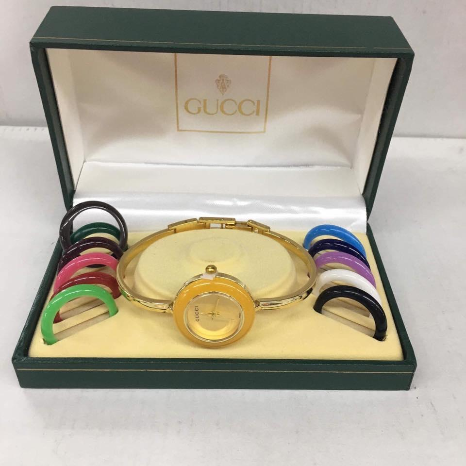Gucci Set Stainless Gold