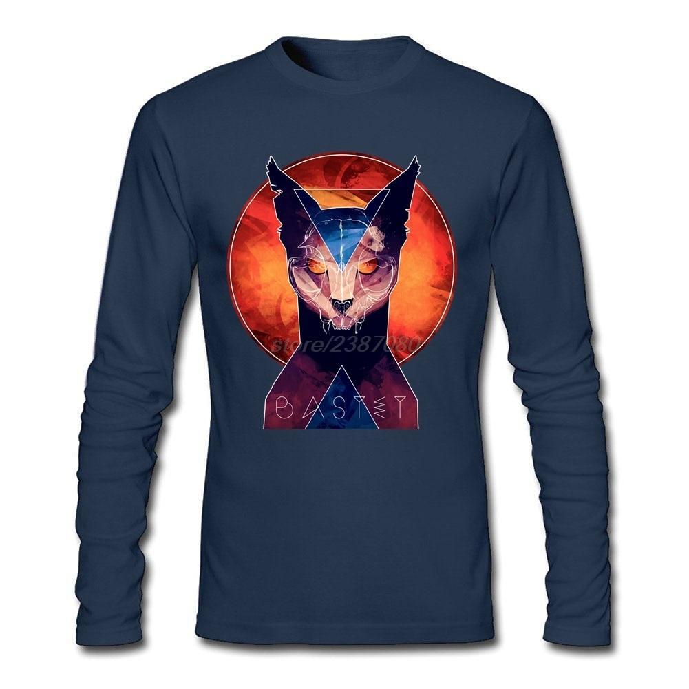 For Man Bastet - Cat Goddess T-Shirt Personalized Pre-cotton Tshirt Design  New 00e7ef0f6
