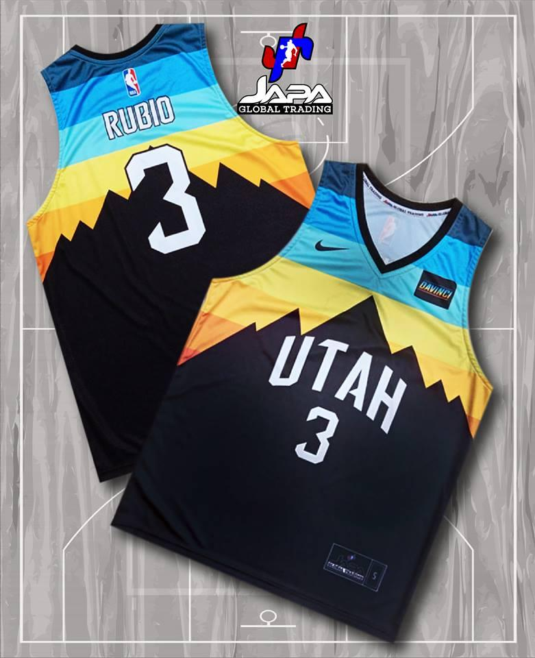 promo code f9461 7ce50 Fulll Sublimated Jersey- UTAH JAZZ DESIGN