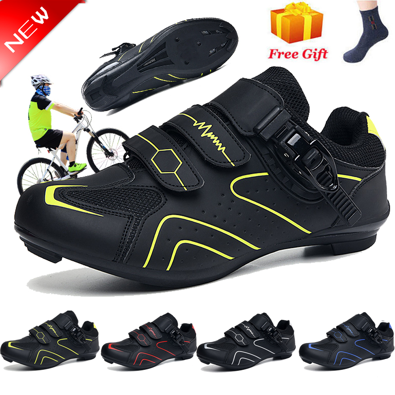 Precise Buckle Strap Mountain Bike Shoes Sneakers Spin Shoes MTB Bicycle Shoes Compatible with Peloton SPD//SPD-SL /& Look Delta Lock//Unlocked BUCKLOS Road Cycling Shoes Men