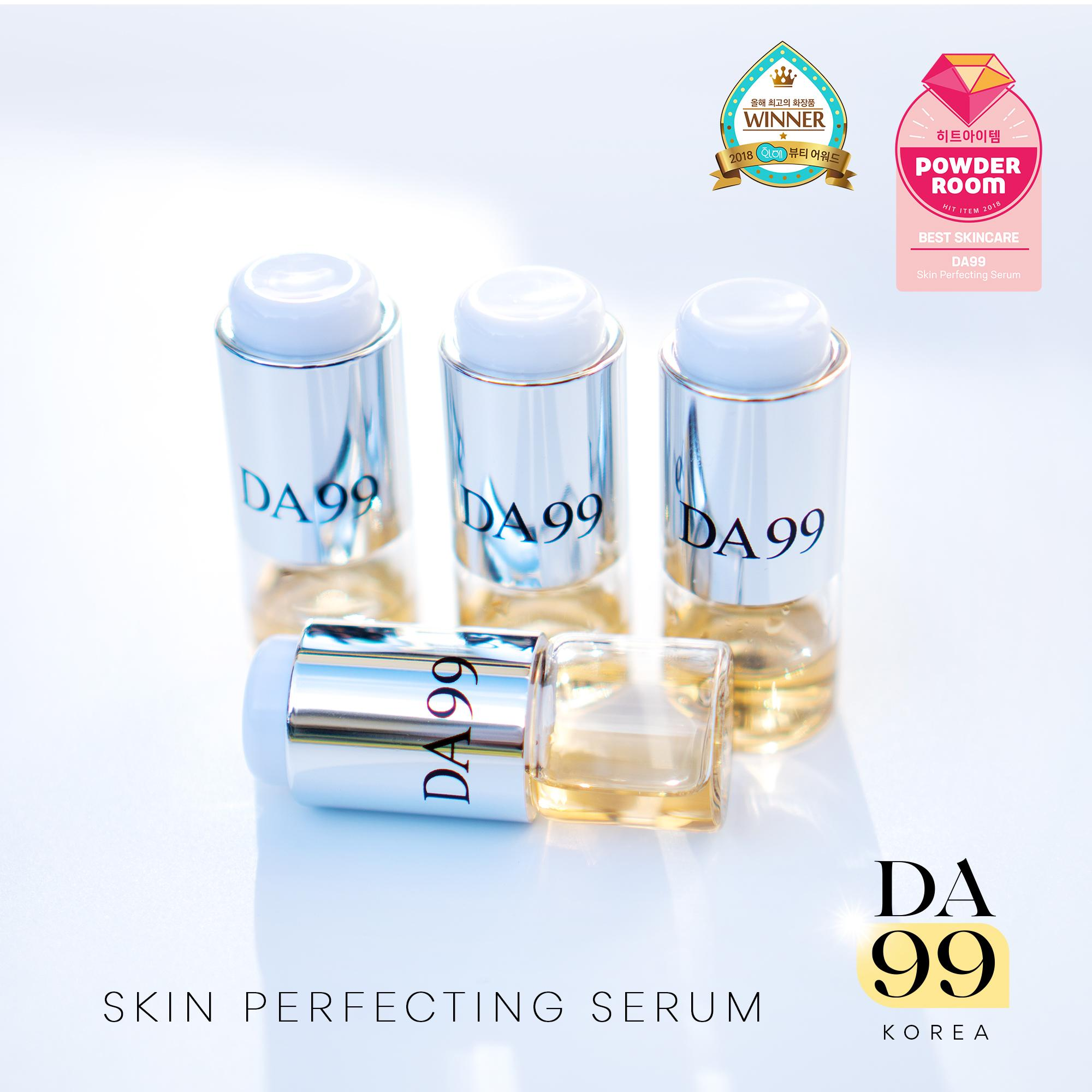 DA99 Skin Perfecting Serum · 4 Ampoule Set · Derma Session at Home ❤️ ·  Better than Botox / Vitamin Infusion · Key Ingredient Discovered by NASA ·