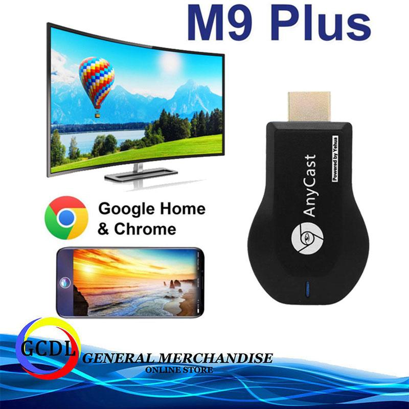 Anycast M9 Plus 2018 HDMI WIFI Display iPhone/iPad Google Chrome,Google  Home Android Screen Mirroring Cast Screen AirPlay DLNA MiracastrPlay DLNA