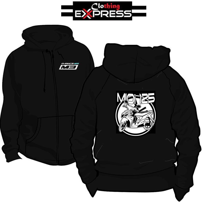 b14195e602493 Yamaha Mio i125 Customize Clothing Express Hoddie Jacket with Zipper