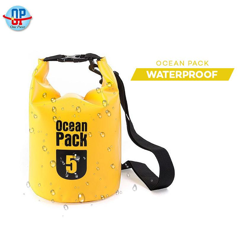 5L Barrel-Shaped River Trekking Drifting Seal Rafting Bags Ocean Pack Waterproof Dry Bags Outdoor image on snachetto.com