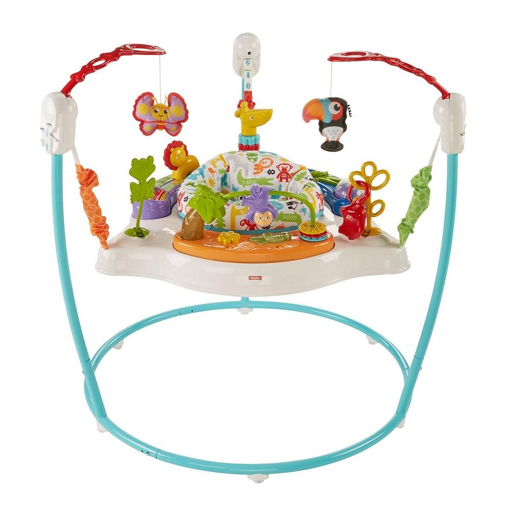 Fisher-Price Animal Activity Jumperoo, Blue By Shopsavers.