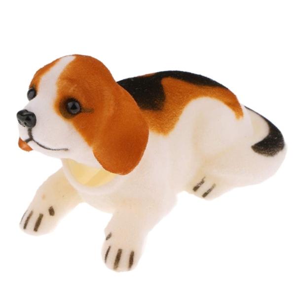 Bobbing Head Beagle Dog Car Dash Ornaments Puppy for Car Vehicle Decoration