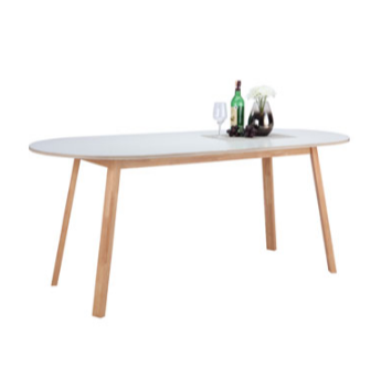 Home Source Scandinavian Dining Table White Lazada Ph