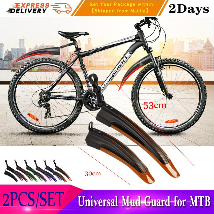 New MTB Mountain Bike Tire Fender Bicycle Cycling Front With Rear Mud Guards Mud